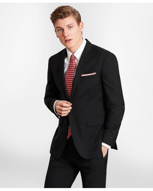 Brooks Brothers - Black Brooksgatetm Milano-fit Wool Suit Jacket for Men - Lyst