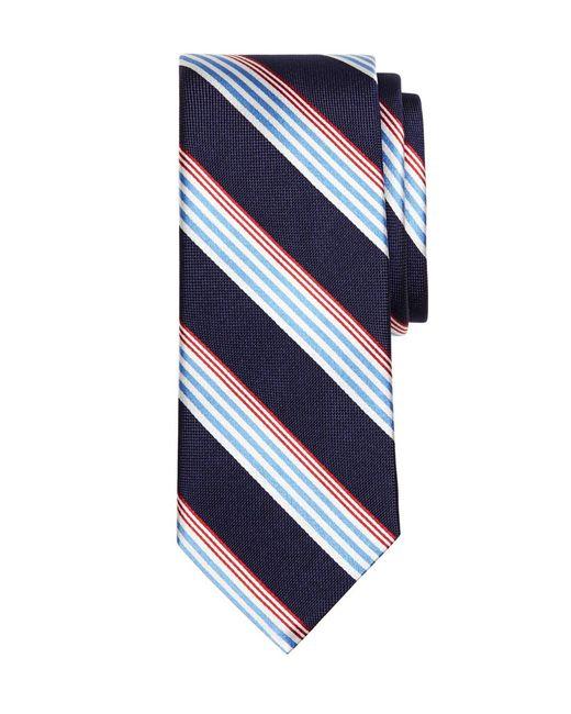 Brooks Brothers | Blue Sidewheeler Music Stripe Tie for Men | Lyst