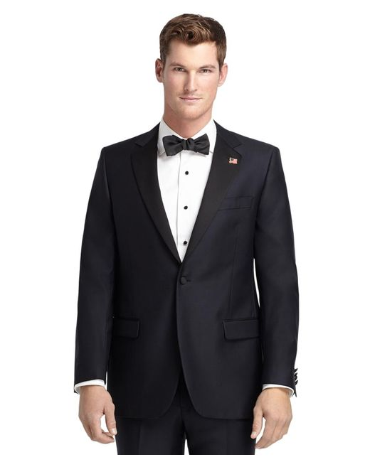 Brooks Brothers - Blue 1818 One-button Fitzgerald Navy Tuxedo for Men - Lyst