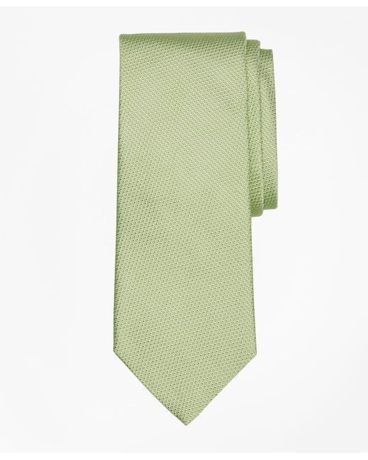 Brooks Brothers - Green Textured Tie for Men - Lyst