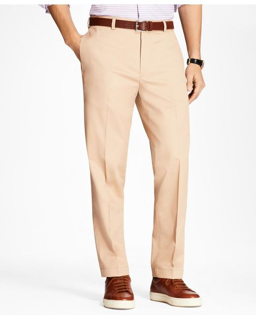 Brooks Brothers - Natural Clark Fit Lightweight Stretch Advantage Chinos® for Men - Lyst