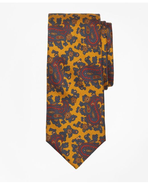 Brooks Brothers - Metallic Ancient Madder Paisley Print Tie for Men - Lyst