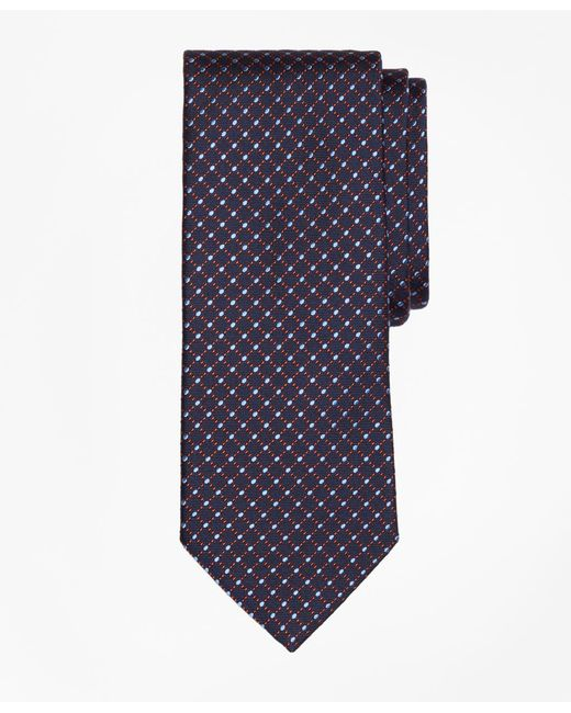Brooks Brothers - Blue Fancy Dot Tie for Men - Lyst