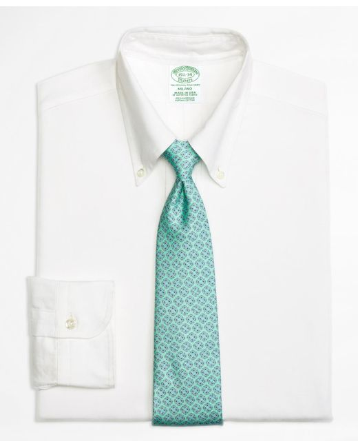 Brooks Brothers - White Milano Fit Original Polo® Button-down Oxford Dress Shirt for Men - Lyst