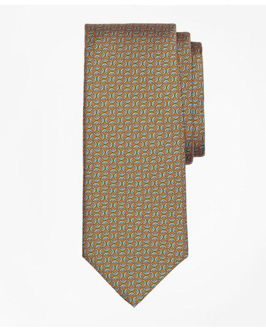 Brooks Brothers | Orange Watermelon Motif Print Tie for Men | Lyst