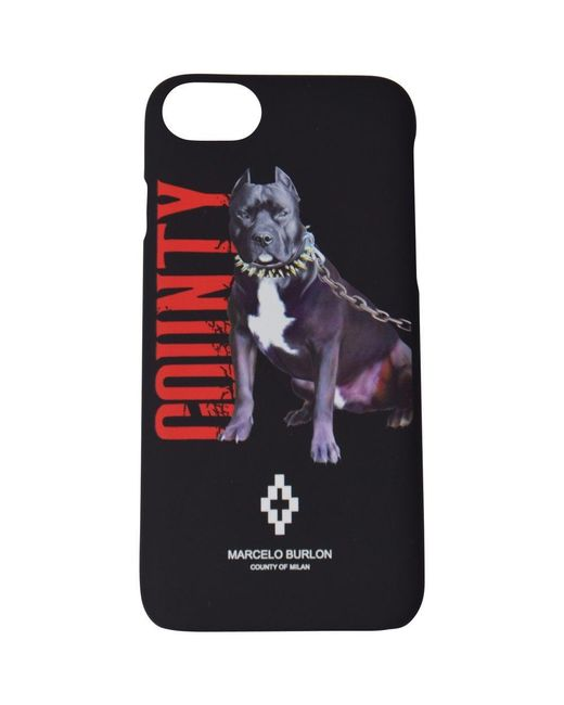 Marcelo Burlon - Black Dogo Iphone 7/8 Phone Case for Men - Lyst