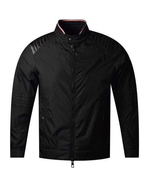 f13362cfb Lyst - Moncler Black Premont Bomber Jacket in Black for Men