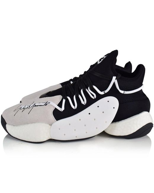 For 3 59 Y In Basketball Black Trainers Leather Lyst Save Men A7aqw0q