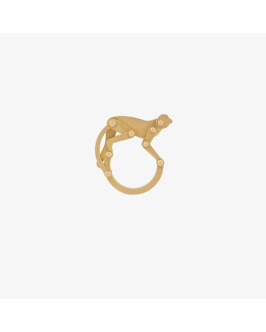 Marc Alary | Metallic Articulated Monkey Ring | Lyst