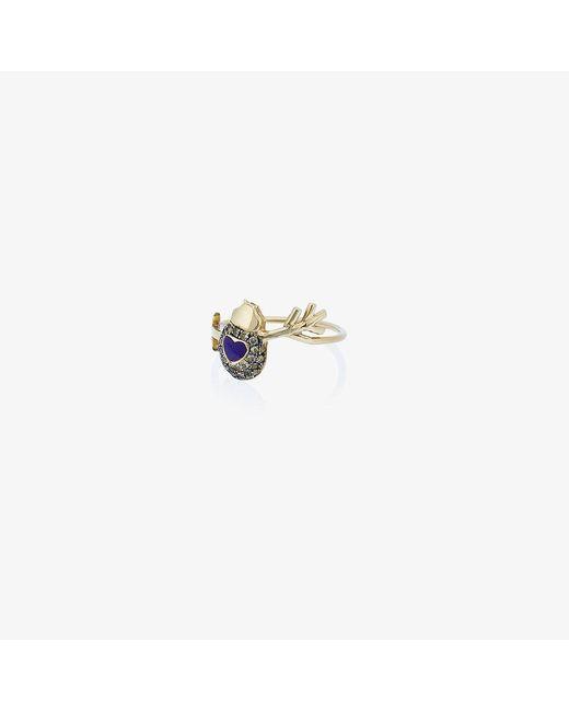 Daniela Villegas   Metallic Love Bug Ring   Lyst