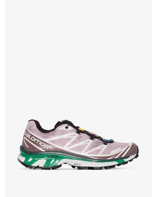 Salomon S/Lab Purple Xt-6 Advanced Sneakers