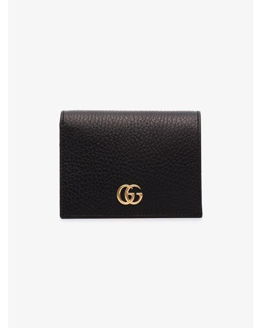 Gucci Black Leather Card Case Wallet