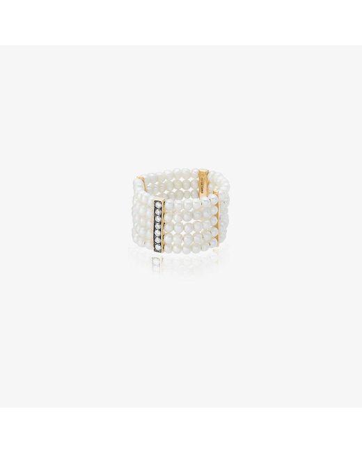 Anissa Kermiche | Metallic Plurielle Dorée Ring | Lyst