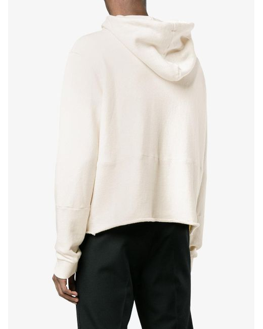 Atelier Hooded Sweatshirt - Nude & Neutrals Maison Martin Margiela Cheap Sale Outlet Fashion Style Outlet Best Seller Ag3iP4