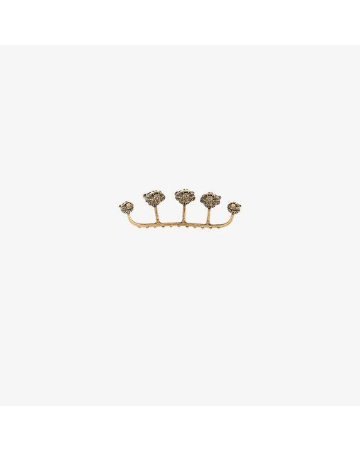 Gucci | Metallic Feline Knuckle Ring | Lyst