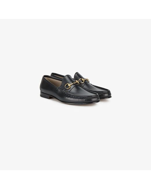 396e18305 Gucci 1953 Horsebit Loafers in Black for Men - Save 8% - Lyst