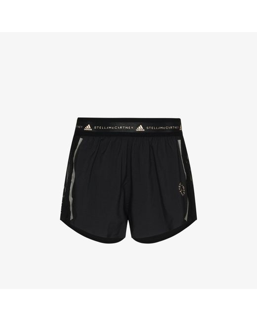 Adidas By Stella McCartney Black Truepace Training Shorts