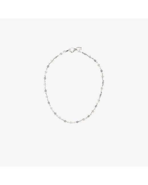 Yohji Yamamoto | Metallic Gothic Cross Chain Necklace for Men | Lyst