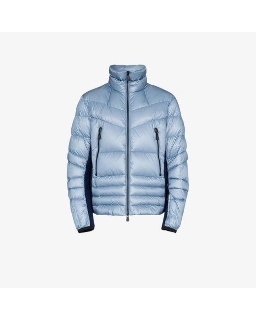 d5b8ba745 Moncler Grenoble Reversible Feather Down Jacket in Blue for Men - Lyst