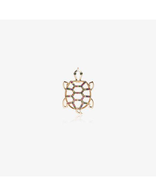 Yvonne Léon - Metallic Gold Tortoise Diamond Earring - Lyst