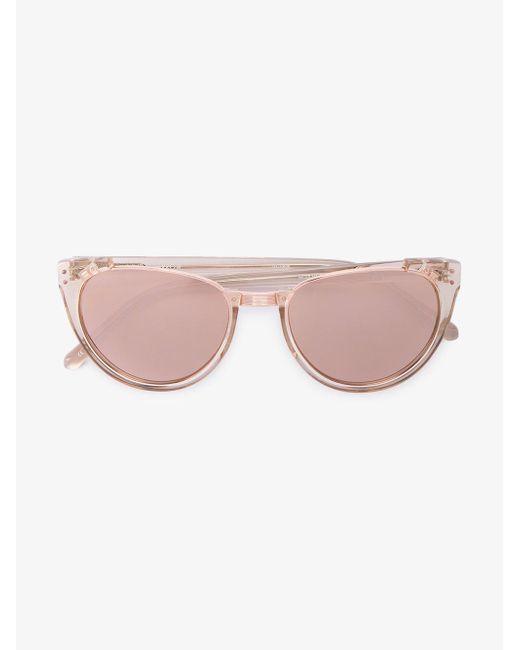 Linda Farrow - Multicolor 136 C30 Cat-eye Sunglasses - Lyst