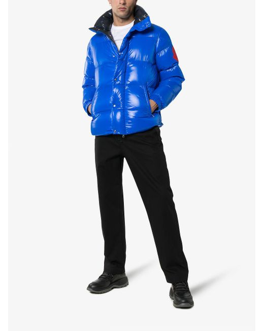 0792926dc Moncler Genius Dervaux Quilted Shell Down Jacket in Red for Men ...