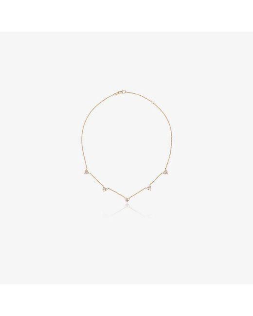 SHAY - Metallic 18k Yellow Gold Mini Heart Diamond Necklace - Lyst