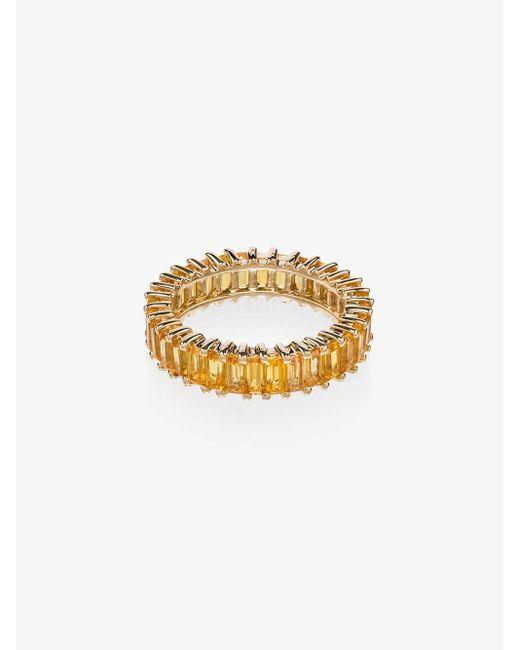 Dana Rebecca 18k Yellow Gold Sapphire Ring