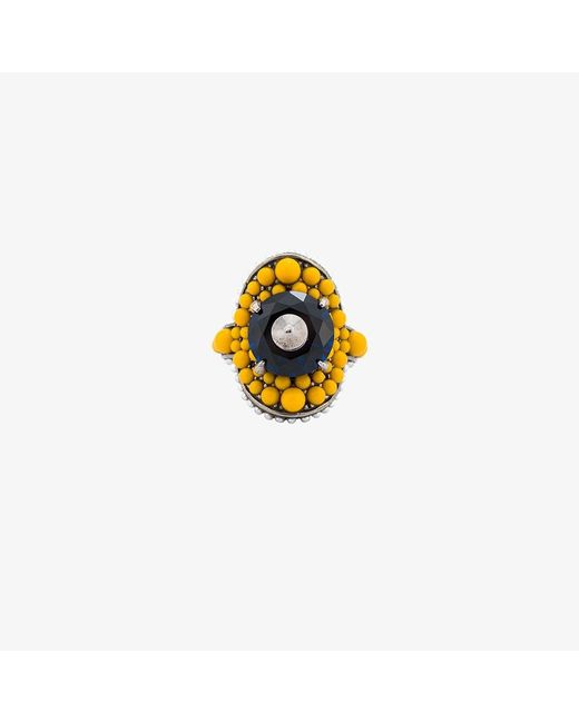 Gucci | Multicolor Multi-beaded Ring | Lyst