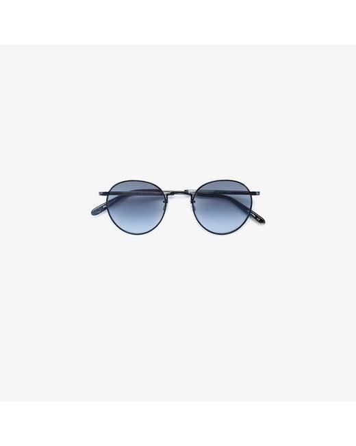 Garrett Leight | Black Van Buren Combo 46 Sunglasses | Lyst