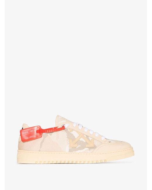 Off-White c/o Virgil Abloh Multicolor X Browns 50 Neutral Camouflage Print Sneakers