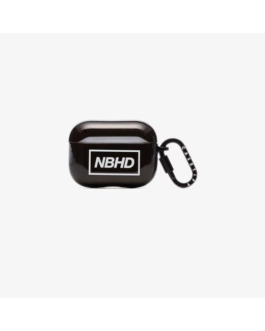 Neighborhood Black Logo Airpods Pro Case for men