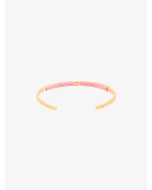 Marte Frisnes pink dido bangle