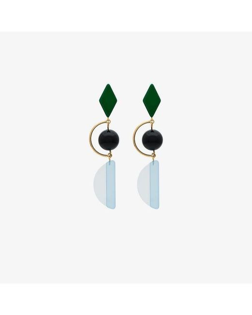 Marni - Blue Hook Earrings - Lyst