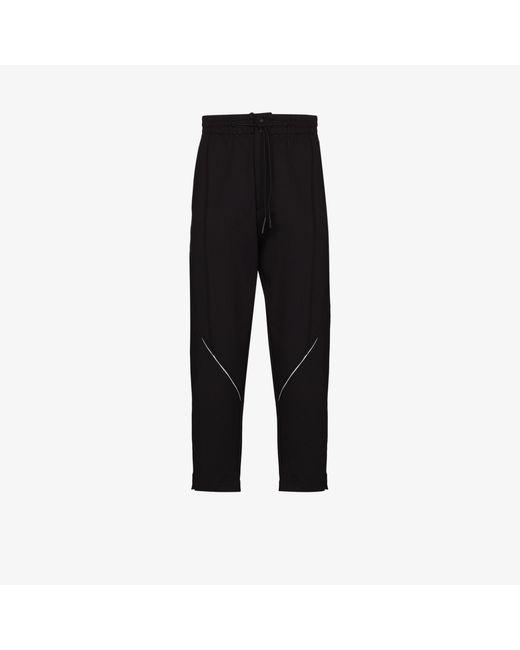 Y-3 Black Shell Track Pants for men