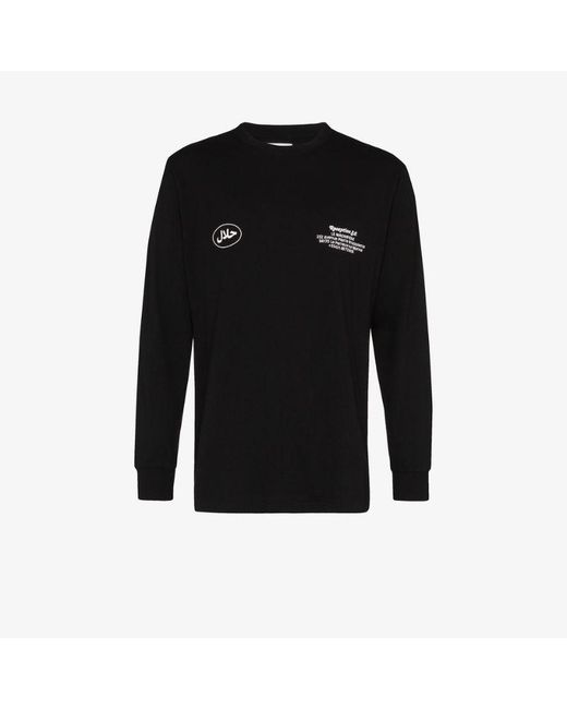 Reception Black Le Magnifique Paris Long Sleeve T-shirt for men