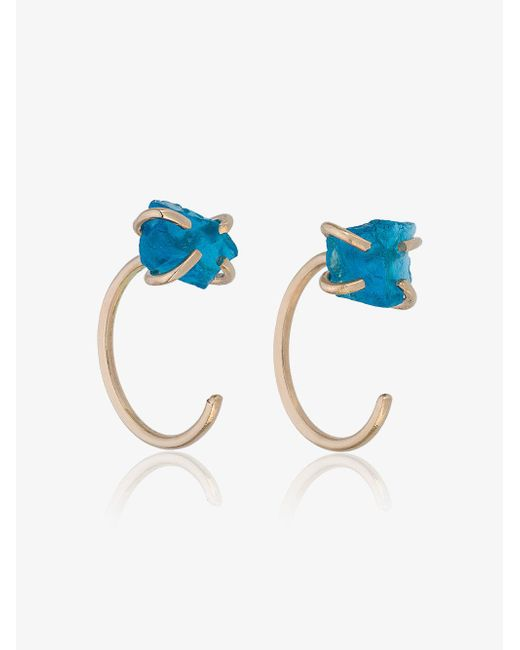 Melissa Joy Manning - Gray Blue Apatite Earrings - Lyst