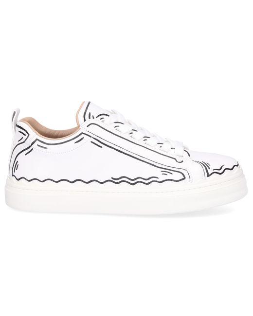Chloé White Low-top Sneakers Lauren