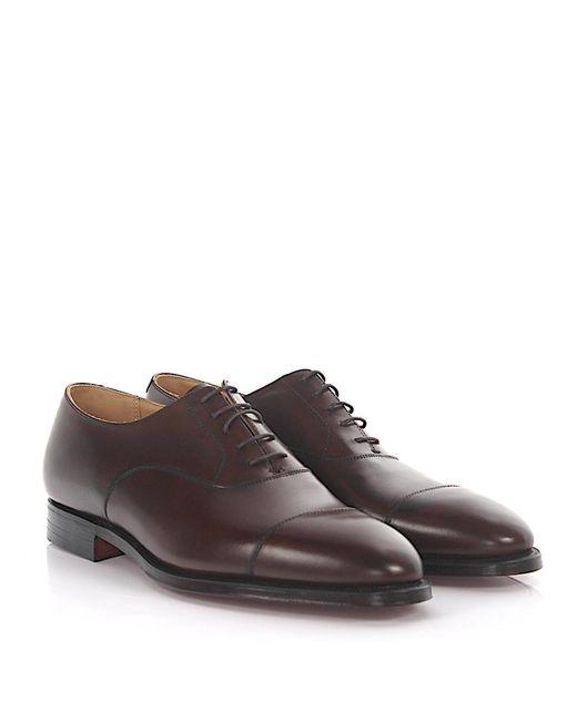 Crockett & Jones Oxford Brogue Barrington leather Goodyear Welted jL1kui