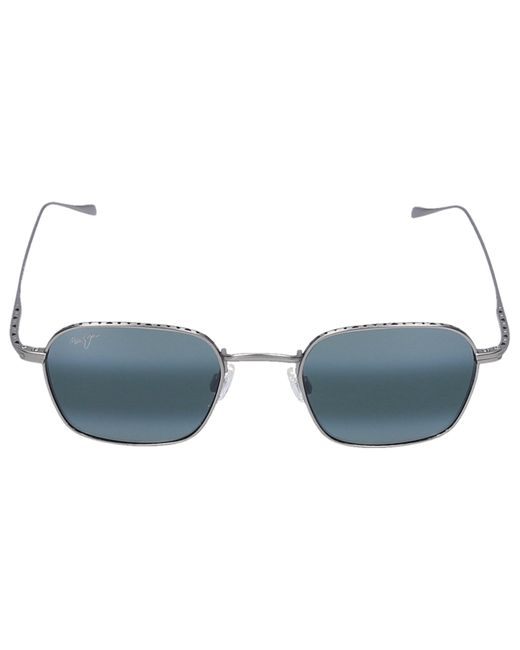Maui Jim Multicolor Sunglasses D-frame Puka Titan Silver