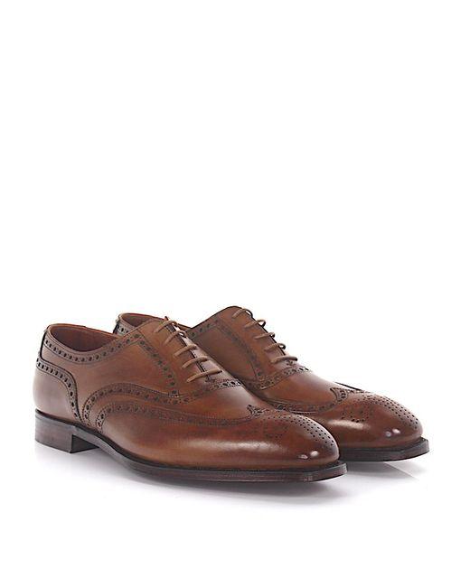 Crockett & Jones Oxford Budapester Barrington leather e9VDRN