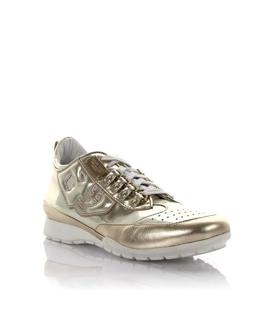 Philipp Plein - Metallic Sneakers Lackleather Gold - Lyst