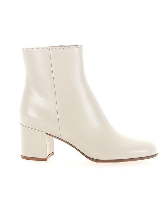 buy online e57fb 14864 Women's White Stiefeletten Margaux Mid Bootie Nappaleder Weiss