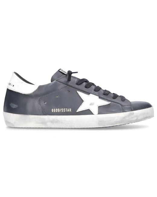 Golden Goose Deluxe Brand Schuhe Sneaker low SUPERSTAR Kalbsleder in Black für Herren