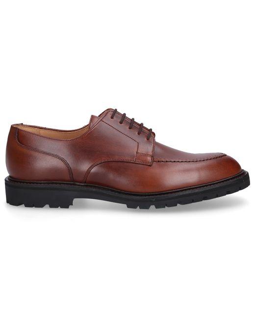 Crockett and Jones Business Shoes Derby Norfolk Calfskin Brown for men