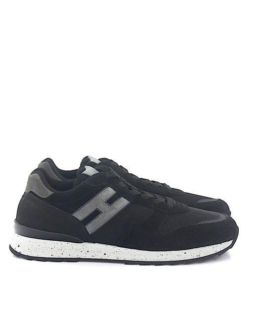 Hogan Rebel Black Low-top Sneakers for men