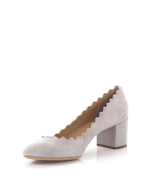 See By Chloe Blye Suede Court Shoes
