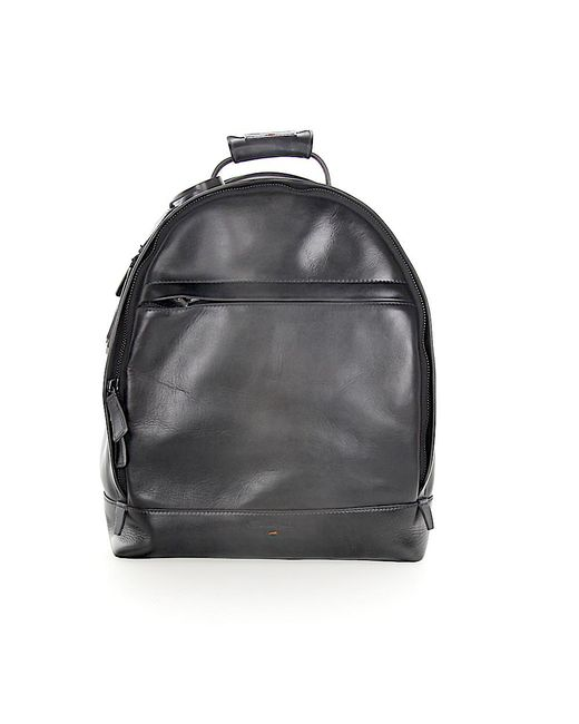 Santoni - Gray Backpack A1764 Leather Grey for Men - Lyst