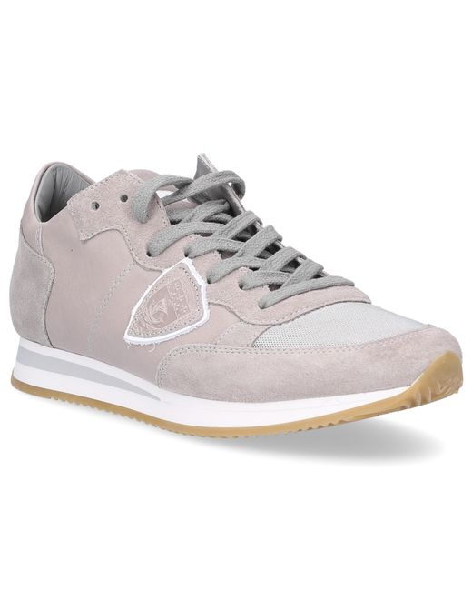 Cheap Sale Great Deals Philippe model Sneakers TROPEZ calf-suede smooth leather textile Logo Patch Sale Limited Edition Cheap Sale The Cheapest 5HrGx