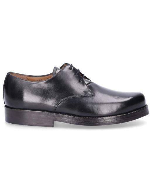 Heinrich Dinkelacker Business Shoes Derby 3099 Cordovan Leather Black for men